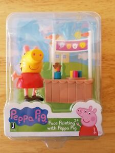 Details About Peppa Pig Face Painting With Peppa Pig
