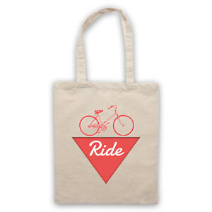 RIDE-BIKE-FANATIC-LOVE-OF-CYCLING-BICYCLE-ENTHUSIAST-SHOULDER-TOTE-SHOP-BAG