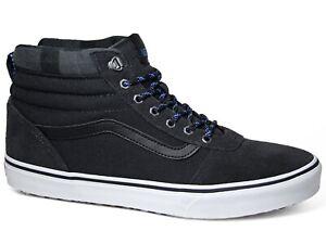 Details zu Vans Ward Hi MTE 360 Suede Sneakers Asphalt White Dunkelgrau Leder VN0A3JETSYZ1