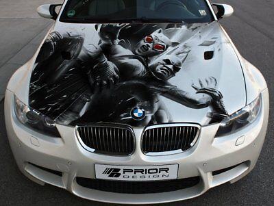 Vinyl Car Hood Wrap Full Color Graphics Decal Batman Gotham Comics Sticker