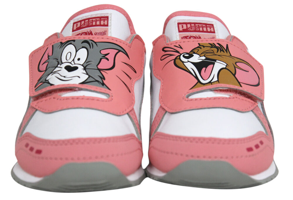 PUMA Cabana Racer Tom and Jerry Kids Sneaker Infant//Toddler//Little Kid