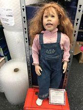 Julie Fischer Vinyl Puppe 80 cm. Top Zustand