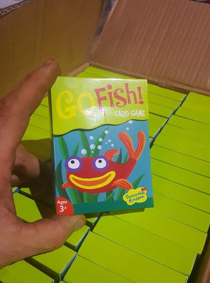 Go fish card game Wholesale Case Lot (96 sets) sets) sets) Peaceable Kingdom Make Money New  1c3574