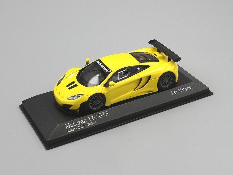 Minichamps 1 43 McLaren MP4-12C GT3 Street 2012 giallo