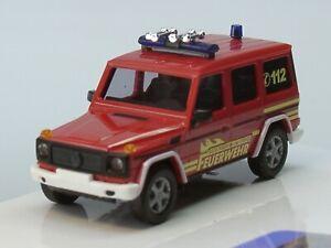 """Busch 51435 Mercedes-Benz G-Klasse /""""Berufsfeuerwehr Wien/"""" 1:87//H0 NEU//OVP 1990"""