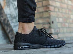 Nike-SB-Stefan-Janoski-Max-Zapatillas-Uk-Size-7-5-EUR-42-Negro-Antracita