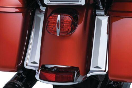 Kuryakyn Chrome Rear Fender to Saddlebag Filler Panels Harley Touring Electra FL