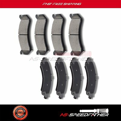 2002 2003 2004 For Cadillac Escalade EXT Front Ceramic Brake Pads