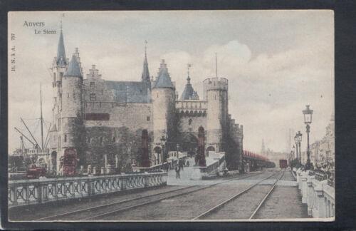 Le Steen    T9929 Details about  /Belgium Postcard Anvers Antwerp