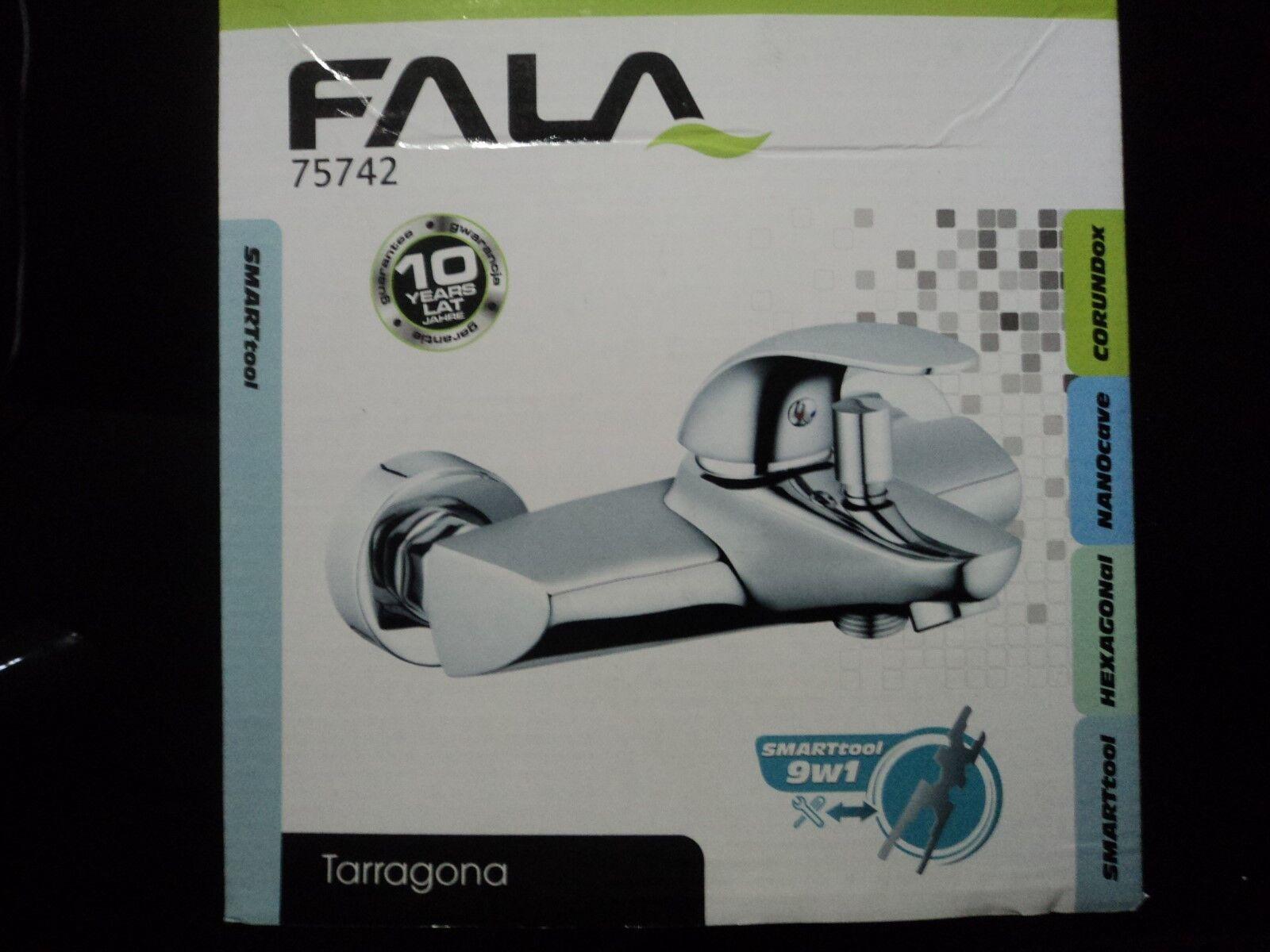 Fala Wandmontierbarer Badewannen-Wasserhahn Tarragona Messing 75742