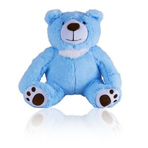 Small Keepsake 2 Cubic Inches Blue Teddy Bear Funeral Cremation Urn