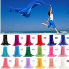 New Women's 100% Silk Solid Shawl Wrap Scarves Long Wraps Shawl Beach Silk Scarf