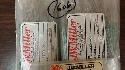 07241-06 JW Miller Fixed RF Inductors 2.7uH 10/% 10 PCS
