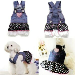 Small-Pet-Puppy-Dog-Cat-Lace-Skirt-Princess-Dress-Summer-Clothes-Apparel