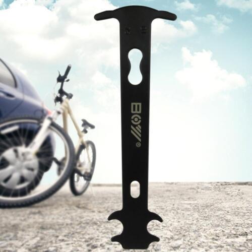 Bicycle Chain Measuring Ruler Chain Rivet Remover Wear Tester Repair Tools
