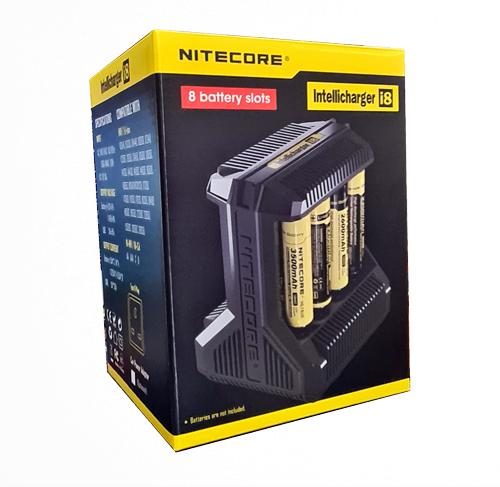 NITECORE INTELLICHARGER I8 Battery Charger 100% Authentic NITECORE WARRANTY