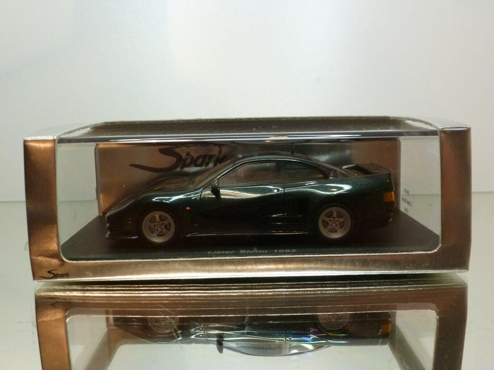 compras en linea SPARK S0630 LISTER STORM 1993 - verde METALLIC 1 43 43 43 - EXCELLENT IN BOX  en venta en línea
