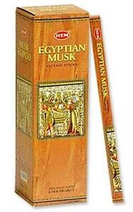 Two 8-Stick Boxes Hem Egyptian Musk Incense!