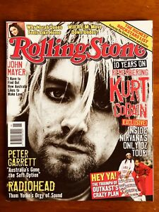 ROLLING-STONE-AUST-MAY-2004-Kurt-Cobain-Nirvana-REM-Outkast-Radiohead-Eminem