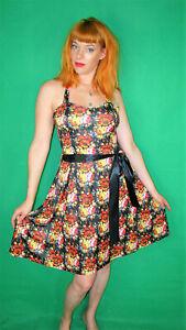 Kleid, Minikleid, Petticoat, Pinup,50´s, Rockabilly, Rock ...