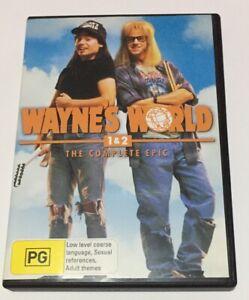 Wayne-039-s-World-Double-Pack-DVD-Region-4