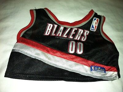 Build a Bear Portland Trail Blazer Uniform Top /& Shorts Basketball NBA