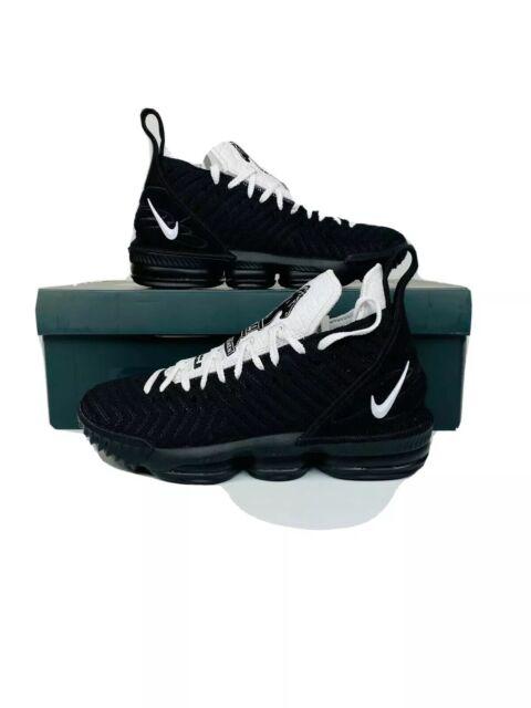 "Nike Lebron XVI CI7862-001 /""Four Horsemen/"" Black White Basketball Shoes Mens NEW"