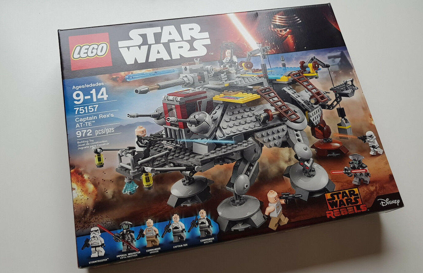 LEGO 75157 Captain Rex's AT-TE STAR WARS WARS WARS NEW Never Opened 3e8b9b
