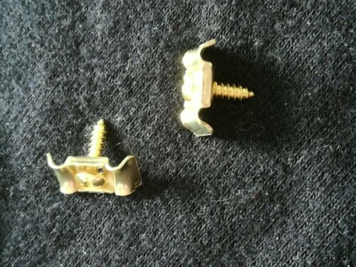 pair of string trees retainers in gold  for vintage strat tele electric guitar