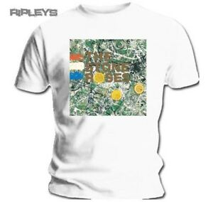 Official-T-Shirt-THE-STONE-ROSES-Original-Album-Cover-White-All-Sizes