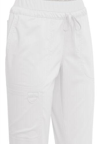 White Cherokee Scrubs Workwear Revolution Drawstring Pant WW105 WHT