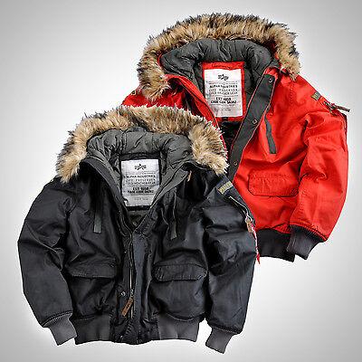 Alpha Industries warme Winter Herren Jacke Mountain Jacket Winterjacke Parka