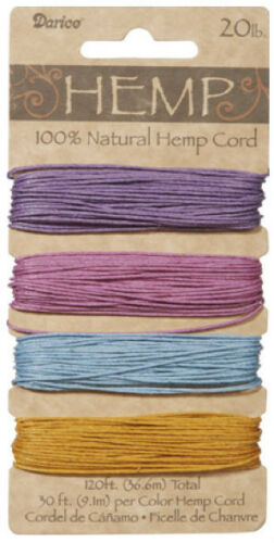Assorted Hemp Cord Set MANY TO CHOOSE FROM!!! BRAND NEW SEALED!!!