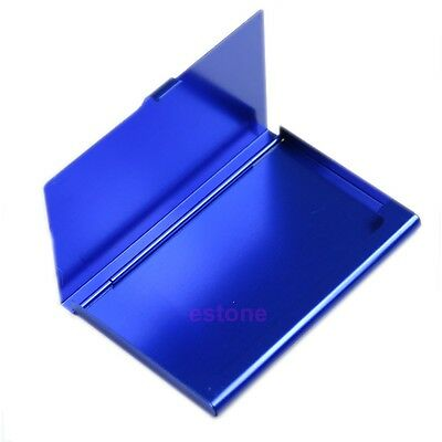 Handy Aluminum Alloys Pocket Business Name Credit ID Card Metal Box Cover Case