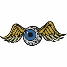 Patches Application Stick emblem Patch 4 5/16x1 3/16in Eye with Wings 01914