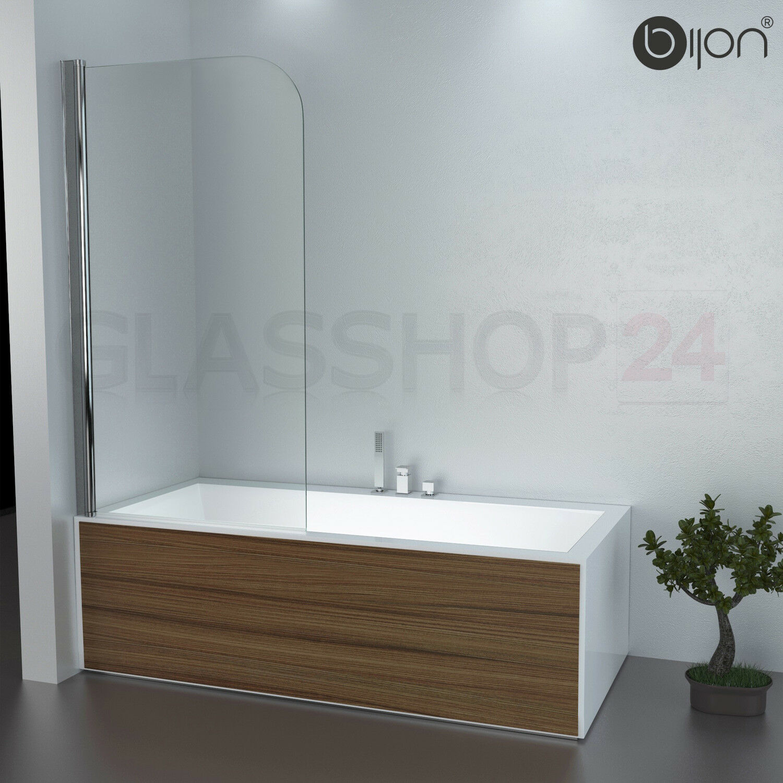 Badewannen Duschabtrennung Badewannenaufsatz Faltwand Glas Duschwand Badewanne