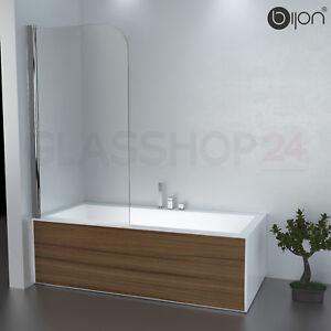 Details Zu Badewannen Duschabtrennung Badewannenaufsatz Faltwand Glas Duschwand Badewanne