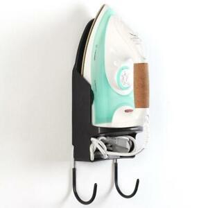 Ironing-Board-Holder-Hangers-Cupboard-Door-Wall-Mount-Supplies-Home-Storage-O1C7