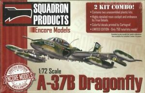 Encore-Models-1-72-Scale-Aircrafts-Models-Kits-A37B-Dragonfly-Airplane-Kit-72104
