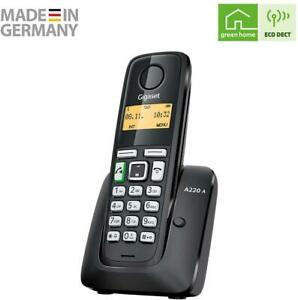 Call Blocker Single Cordless Home Phone House Landline With Answering Machine Uk Ebay