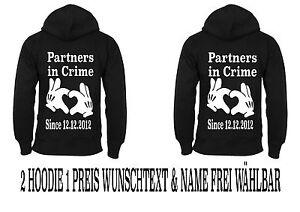 Partner Different Look Novità Colors cappuccio 5xl Felpa Pullover Partner con In Xs Crime rBq708r