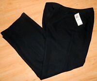 Style & Company Petite - - 100% Polyester Casual/dress Black Pants - 10p