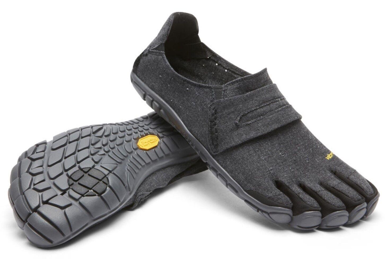 Vibram 18M6201 Men's CVT Hemp Black Outdoor Active Casual Walking Minimal shoes