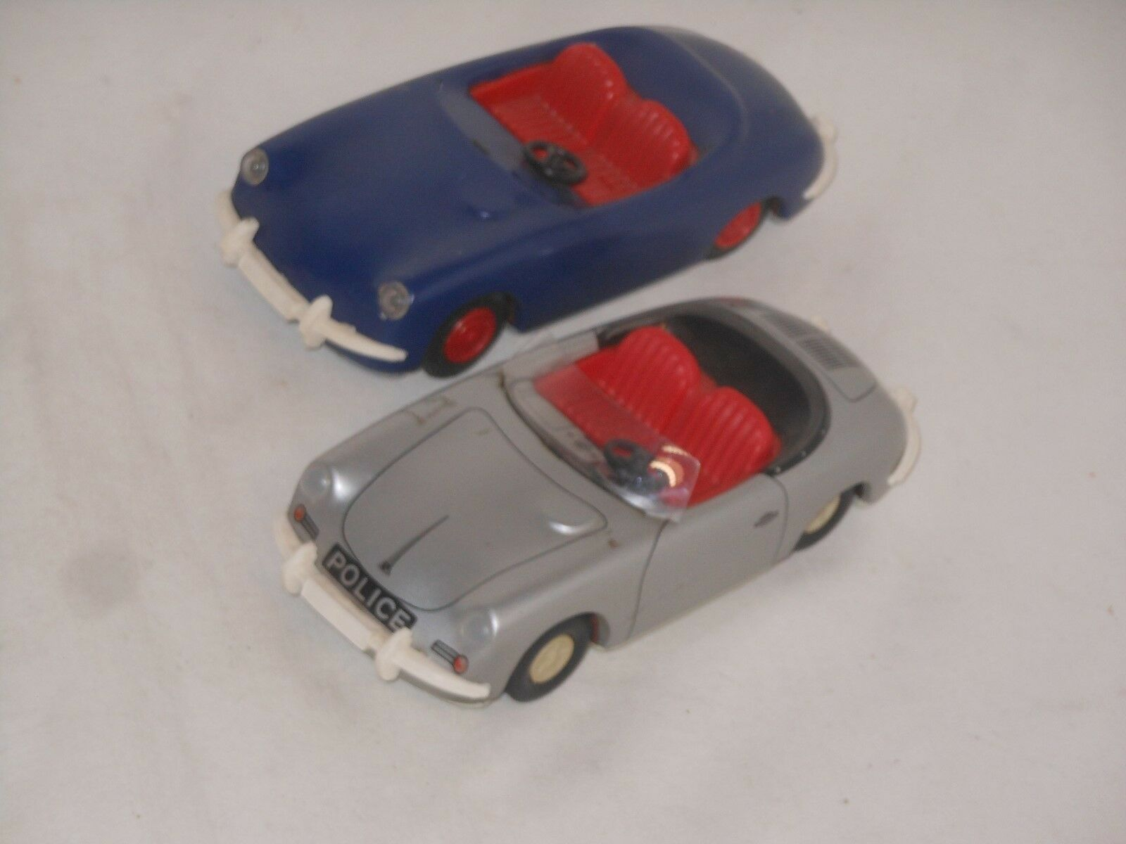 Vintage Tin-Toy - 2 2 Pcs Porsche 911 - Tip & Co Tippco - Germany - 16