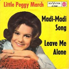 "7"" Peggy March – Madi-Madi Song / Leave Me Alone // Rare Germany 1964"