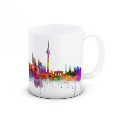 Berlin Skyline, Germany Deutschland Cityscape - High Quality Ceramic Mug