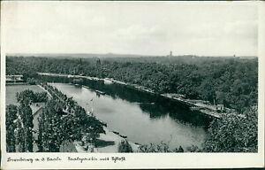 Ansichtskarte Bernburg a.d. Saale Saalepartie mit Schloß  (Nr.9618)