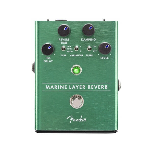 FENDER Marine Layer Reverb   3 Sound Modes   Effektpedal   Gitarreneffektgerät