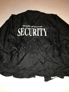 Vtg-90s-Gyros-World-Of-Terror-Haunted-House-Fear-grounds-Security-Jacket-2xl