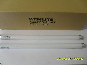1 X 15 Watt 18 Pouces De Long Fluorescent Uv Ampoule Tube Lampe Pour Electric Fly Zapper-afficher Le Titre D'origine éLéGant En Odeur